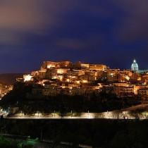 Immagine panoramica di Ragusa Ibla