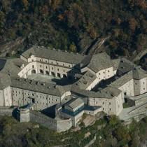 Il Forte di Bard dall'alto
