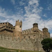 Il Castello di Fénis in Valle d'Aosta