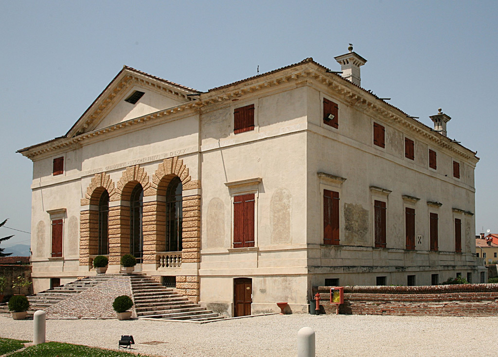 Le ville palladiane gioielli architettonici di vicenza for Ville in italia