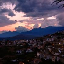 Altomonte al tramonto