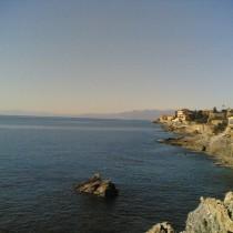 Il Golfo Paradiso visto da Nervi
