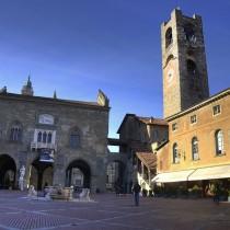 Piazza Vecchia a Bergamo Alta