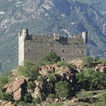 Il Castello di Ussel.