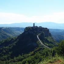 Vista panoramica di Civita di Bagnoregio