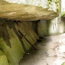Il Sasso Spicco nel Santuario della Verna.