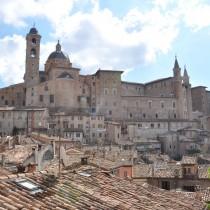 Il centro storico di Urbino